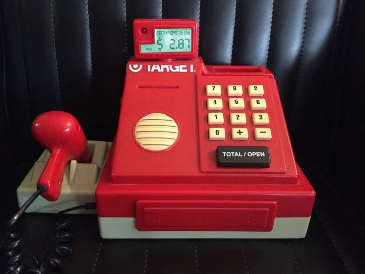 Vintage Target Stores Battat Toy Cash Register Till