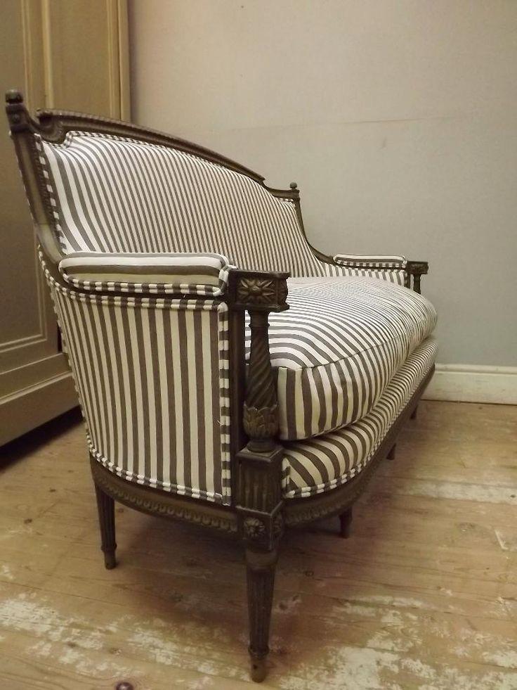 Reupholster Antique Settee