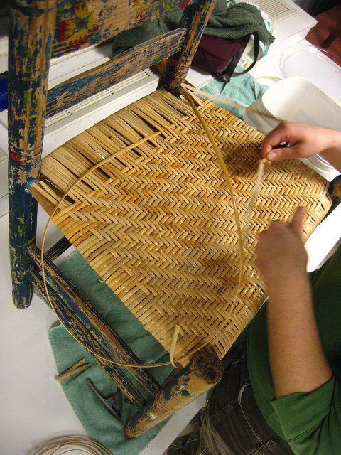 caning herringbonejust the pattern I want to weave in my yard sale chairs   Bottoms