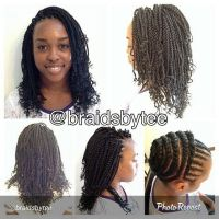 Motherland Braids | Short Hairstyle 2013