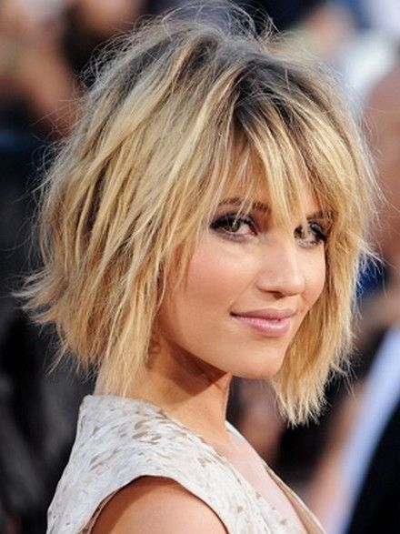 25 Best Ideas About Messy Bob Hairstyles On Pinterest Short