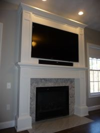 1000+ images about TV mounted above mantle on Pinterest ...