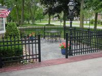 13 best ideas about Iron Fence Enclosed Patio Ideas on ...