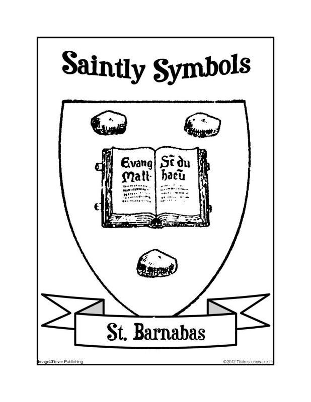 433 best images about Saint Coloring Pages/Roman Catholic