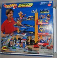 Hot Wheels - Super Electronic Garage Multi-Level - # 15468 ...