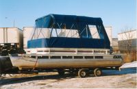 pontoon boat enclosures | pontoon boat tent | Pontoon ...