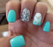 ideas aqua nails