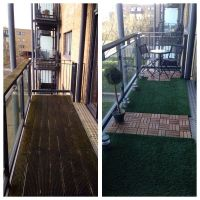 28 best images about Deck Tile & Grass Turf Flooring Ideas ...