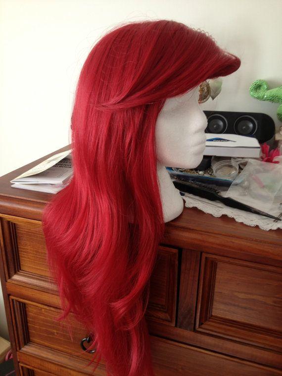 Disneys Ariel Little Mermaid Wig Custom Made