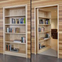 17 Best ideas about Hidden Door Bookcase on Pinterest