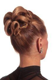 ideas ballroom hair