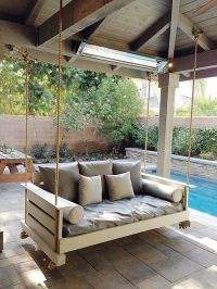 78 Best ideas about Porch Swing Beds on Pinterest | Swing ...