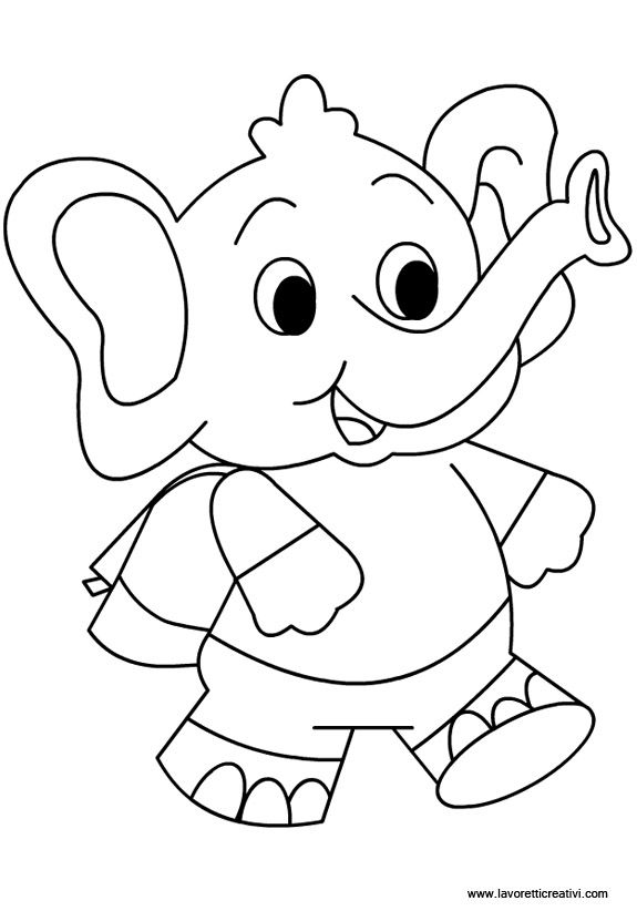 36 best images about Elephant Coloring Pages on Pinterest