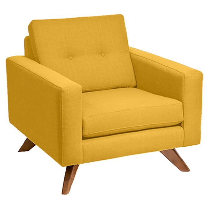 Yellow armchair Arm chairs and Armchairs on Pinterest