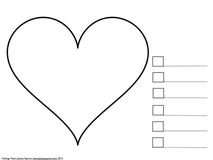 Feelings Heart j.001 What Feelings Are In Your Heart: An