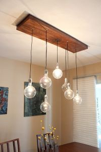 DIY A Rustic Modern Chandelier   Indignant CORGI.. Another ...