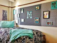 Black, white and mint dorm room | Room decor | Pinterest ...