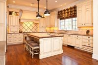 French Provincial Kitchen- nice cabinets | Kitchen ...