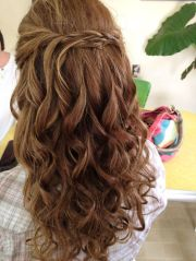 simple hair naturally curly