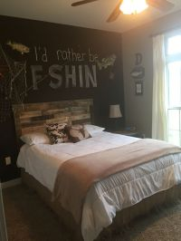 Fishing Themed Bedroom