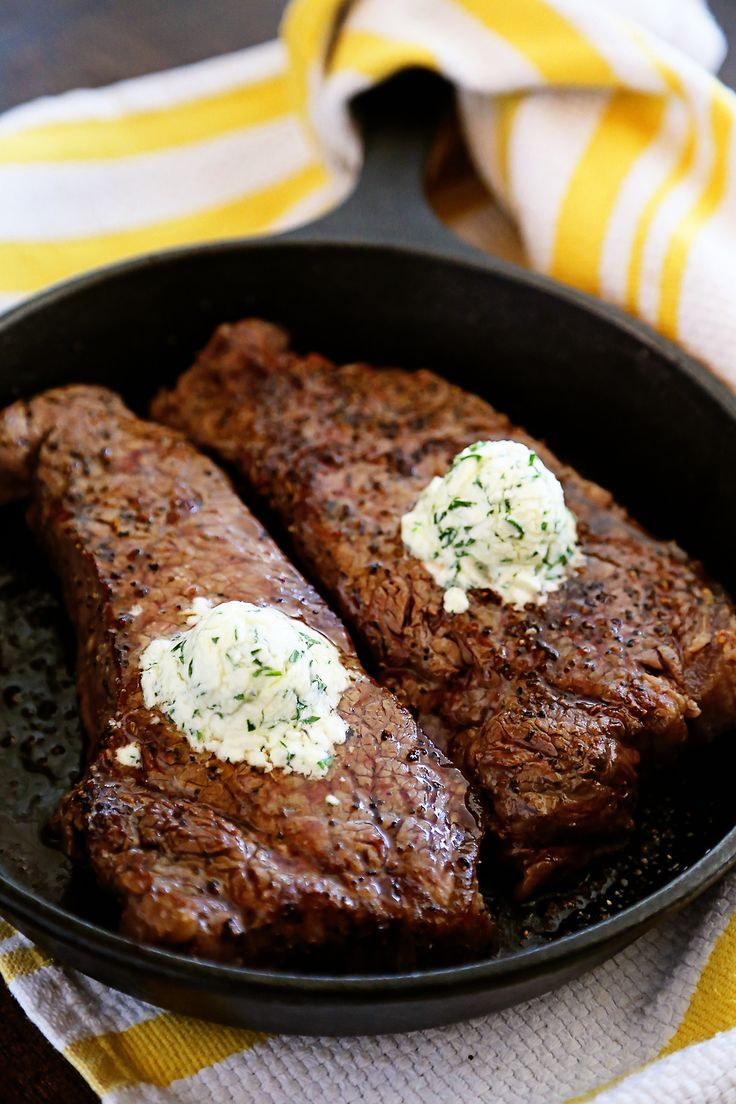 how to cook steak tips in cast iron skillet