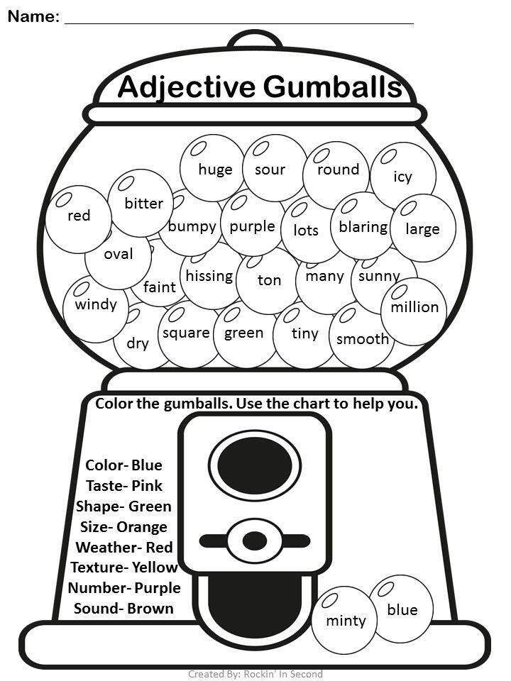 25+ best ideas about Adjectives activities on Pinterest
