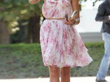 Jessica Alba | Summer | Wedding Guest | Flowing dress ...