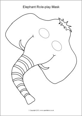 Masks and Elephants on Pinterest