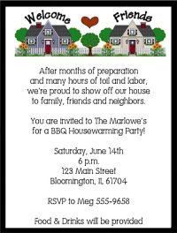 housewarming party invitation wording | Wording ...