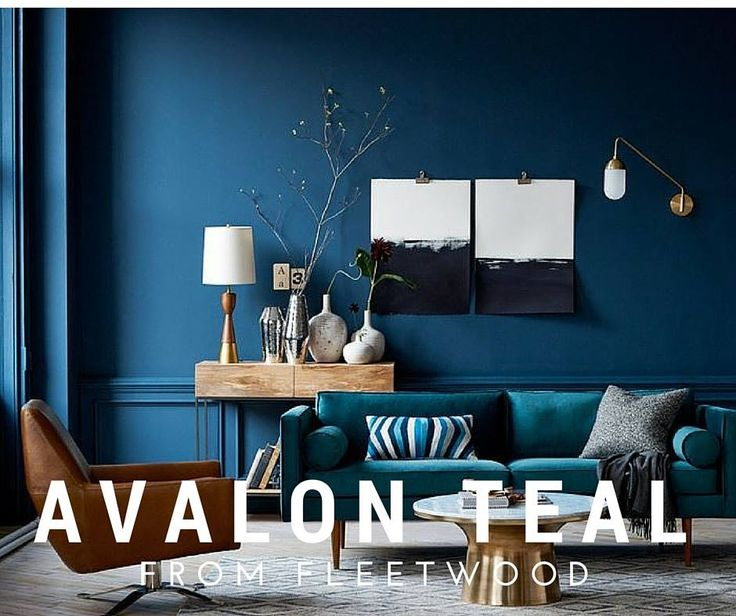 Avalon Teal from the Fleetwood Popular Colours Range  Living Room Inspiration  Pinterest