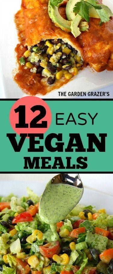 12 Easy, Satisfying Vegan Meals