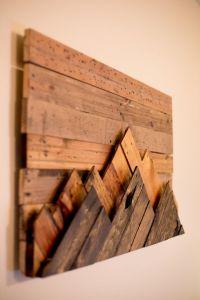 25+ best ideas about Wood Art on Pinterest   Pallet wall ...