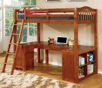 17 Best ideas about Bunk Bed With Desk on Pinterest | Bed ...