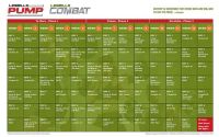 Les-Mills-Combat-Pump-Hybrid-Schedule | Flickr - Photo ...