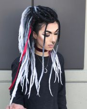 synthetic dreads ideas