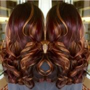 ideas burgundy hair