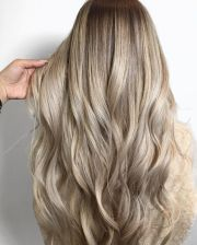 melted champagne blonde