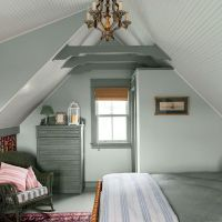 25+ best ideas about Painted beams on Pinterest