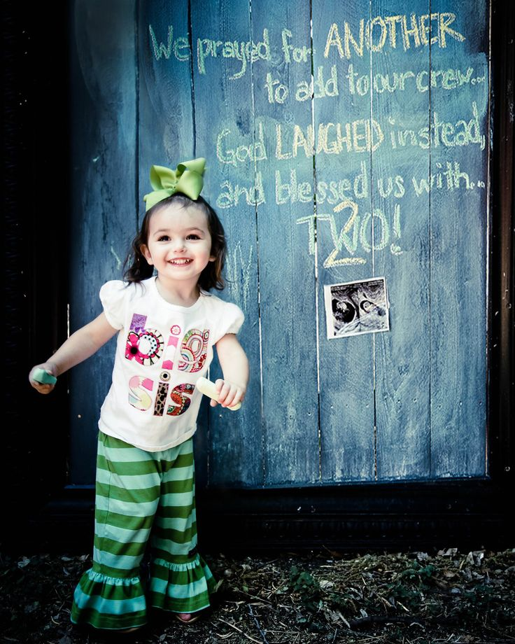 Big Sister Twin Announcement Great Expectations