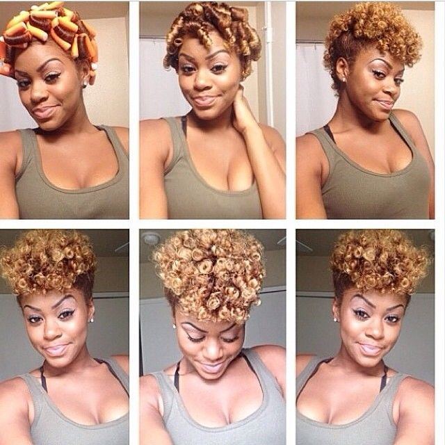 14 Holiday Rod Hairstyles Using Heat Free Flexi Rod Sets Miss