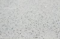 Cambria quartz kitchen countertops - white and silver ...