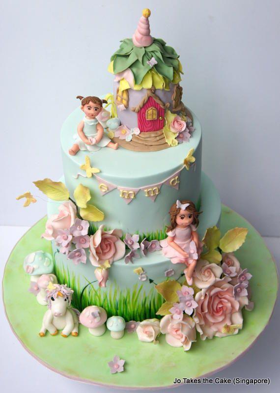25 Best Ideas About Fairy Garden Cake On Pinterest Garden