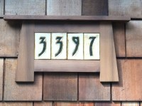 1000+ images about house numbers on Pinterest | Arts ...
