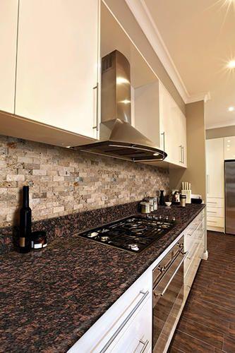 Tan Brown 8 foot PreFabricated Granite Countertop at
