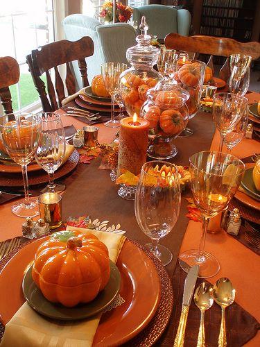 Best 25+ Fall table settings ideas on Pinterest