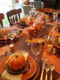 Best 25+ Fall table settings ideas on Pinterest