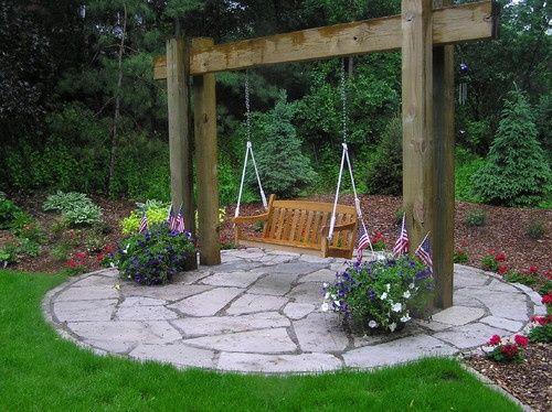10 Best Ideas About Garden Swings On Pinterest Garden Swing