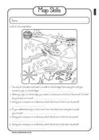 Social Studies- map skills worksheet | Grade 2 | Pinterest ...