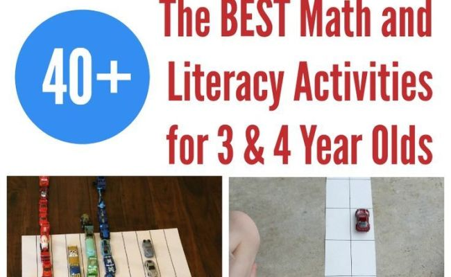 The Best Math And Literacy Learning Activities For