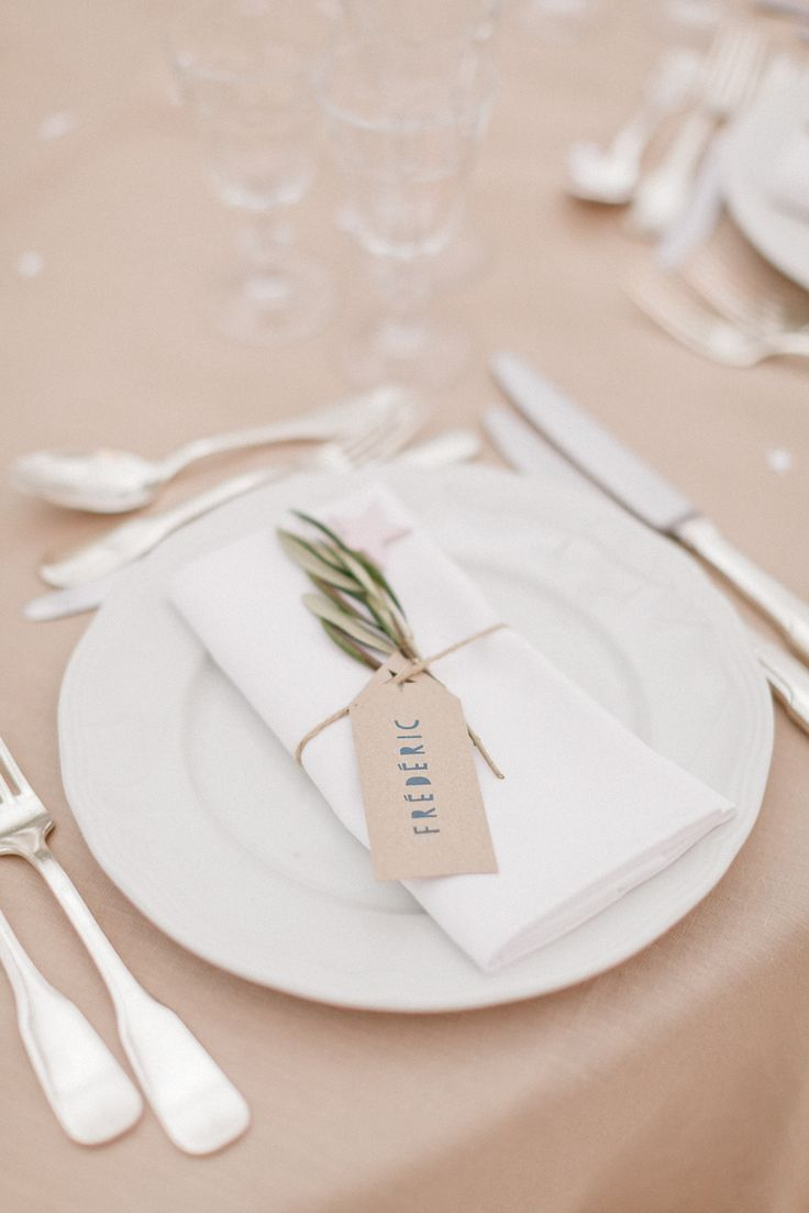 25+ Best Ideas about Wedding Place Settings on Pinterest